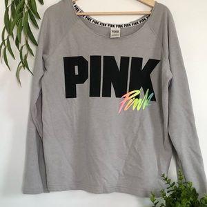 Victoria's Secret Pink Long sleeves crew neck